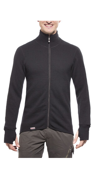 Woolpower 600 Full Zip Jacket Unisex black